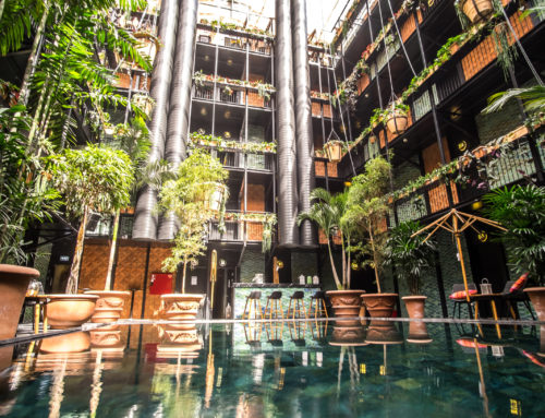 A hip hotel subscribing to sustainability